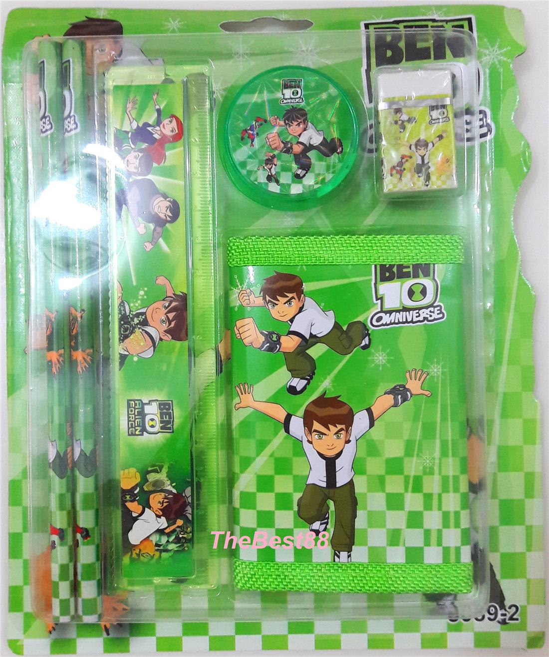 BEN10 Stationery Set 6 In 1 for Kids Birthday Present, Gift SS884BE