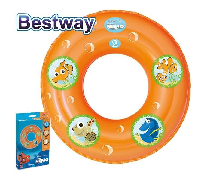 Bestway Finding Nemo Swim Ring (For Ages 3-6 Years)
