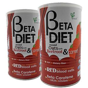 Beta-Diet Mixed Oats with Beetroot & Carrot-Twin Pack