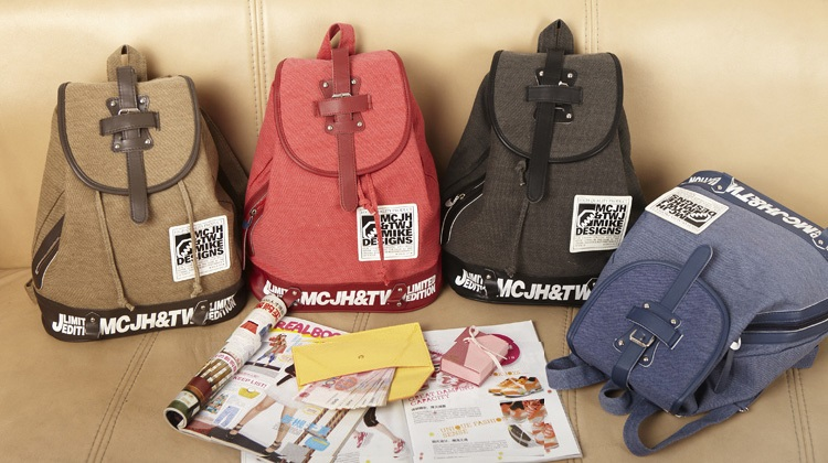 BG3046_Casual canvas Backpack