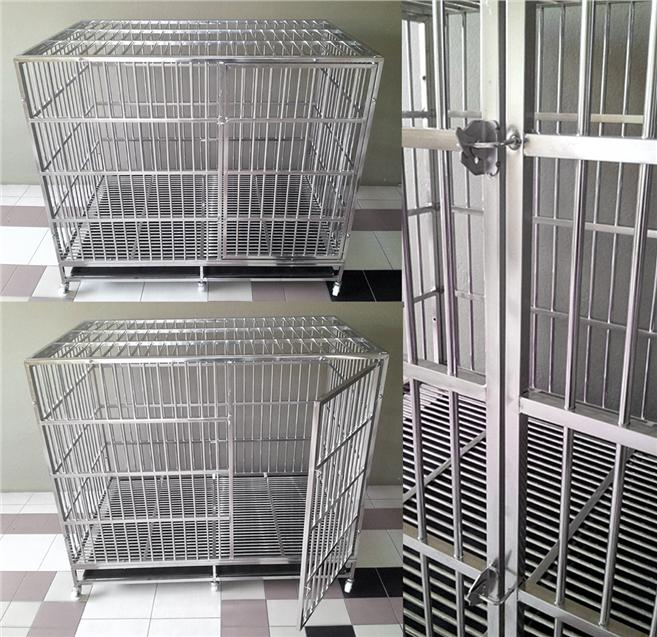 Big Dog Stainless Steel Pet Cage (Free Postage)