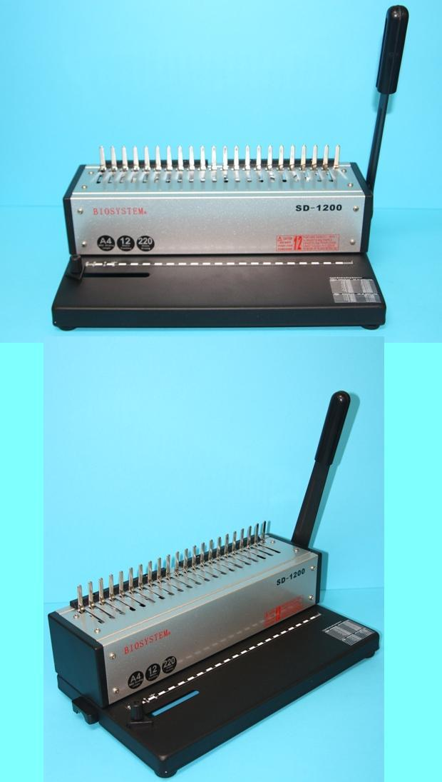 BIOSYSTEM COMB BINDING MACHINE