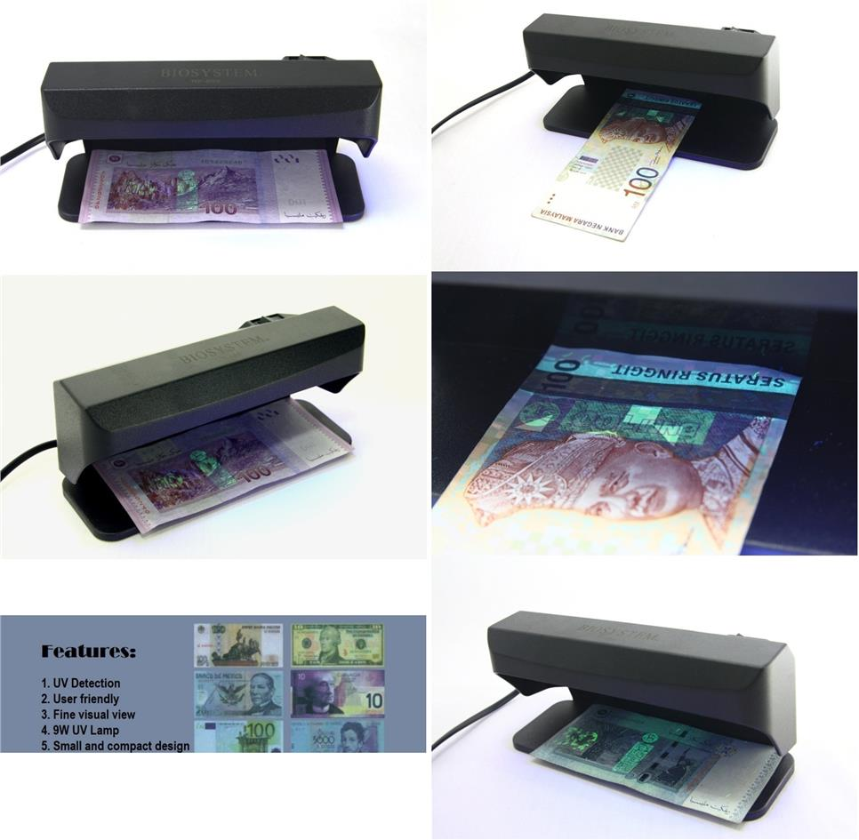 BIOSYSTEM Money Detector Ultraviolet