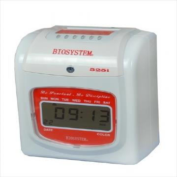 Biosystem Office Use Time Clock 525i Digital