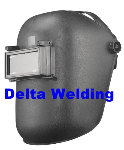 Black Safety Welding Helmet (Openable Lens)