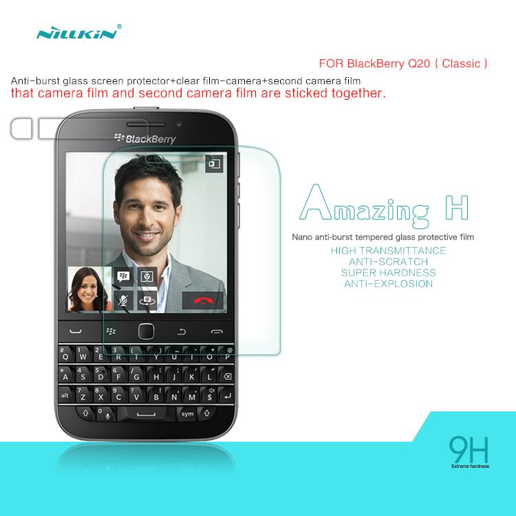 Blackberry Classic Nillkin Anti-Explosion H Tempered Glass Protecter