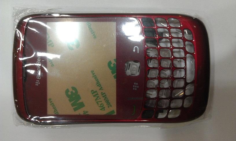 BLACKBERRY CURVE 8520 MAROON COLOUR HOUSING