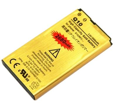 BLACKBERRY Q10 REPLACEMENT GOLD BATTERY