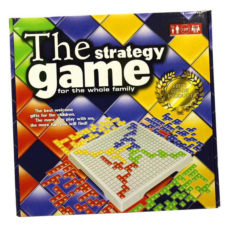 Blokus Strategy Board Game 4 person for kid and family