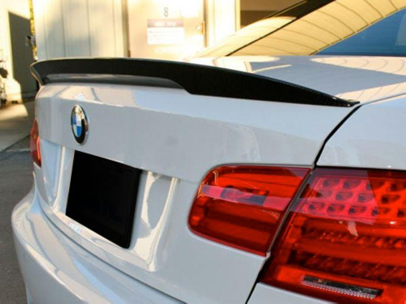 BMW 3 Series E92 '07 Performance Style Trunk Spoiler W/Carbon