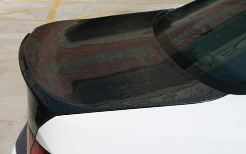 BMW 3 Series E92 '07 Rear Trunk CSL Style With Real Carbon Fiber