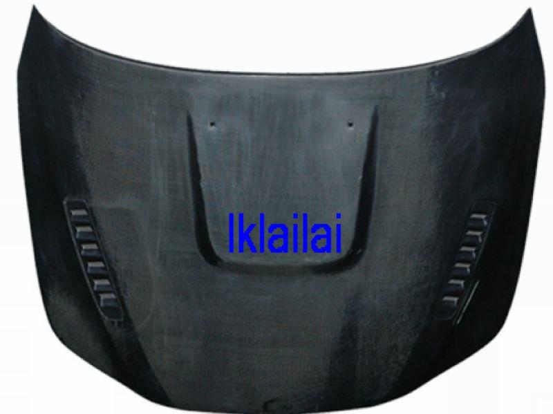 BMW 5 Series E60 `03-09 Engine Hood W/Carbon + Vent FRP