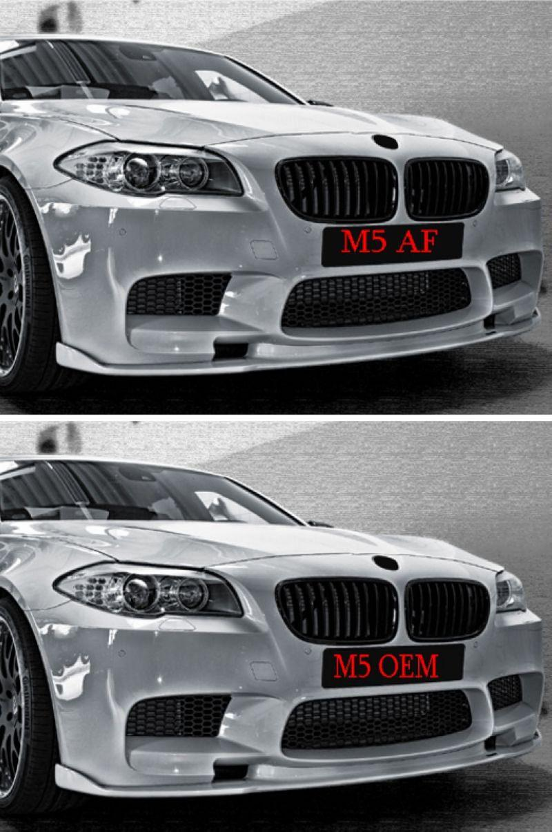 BMW  5 Series F10 '10 M5 AF Haman Look Carbon Front Lip