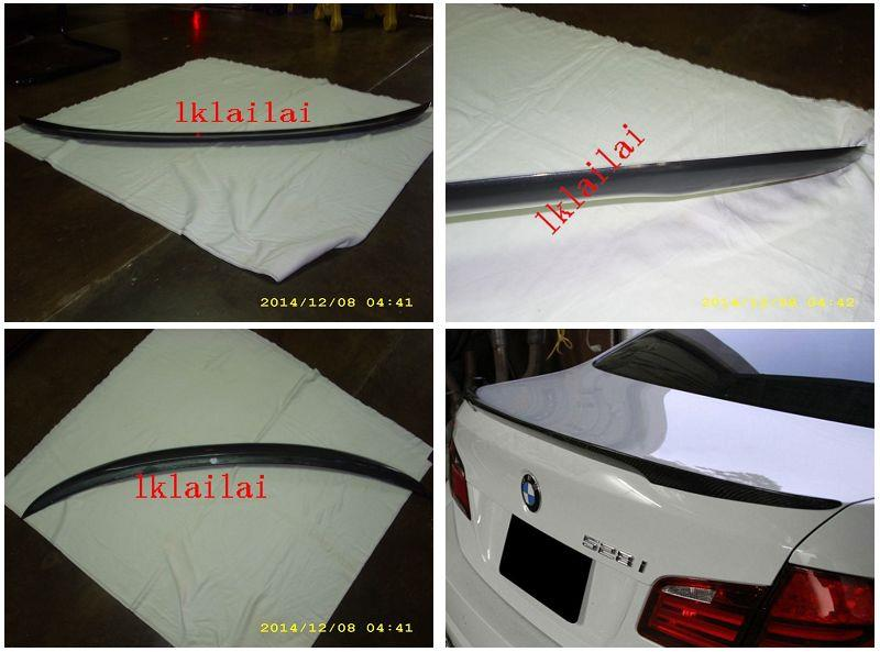 BMW 5 Series F10 `10 Rear Trunk Spoiler ABS M Performance Style