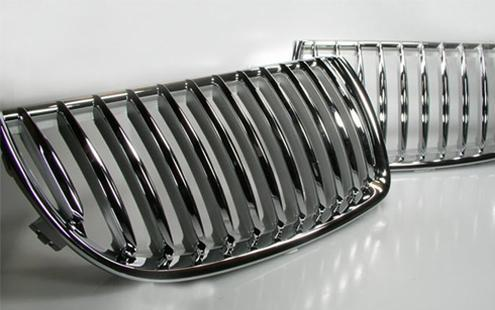 BMW E90 `05 Front Grille Chrome ( 2pcs/set ) (BM03-FG01-U)