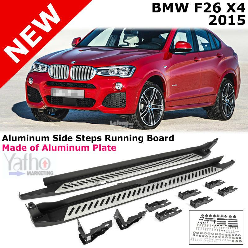 BMW X4 F26 2012-2016 Car running Board side step