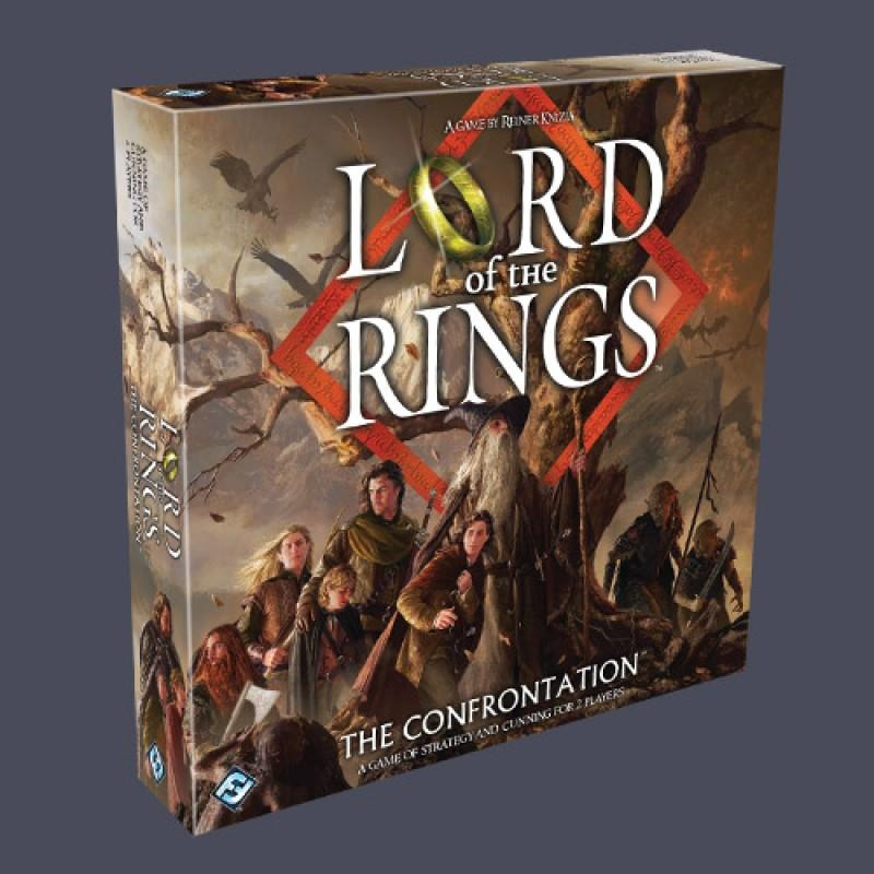 Board Game - Lord of the Rings :  The Confrontation
