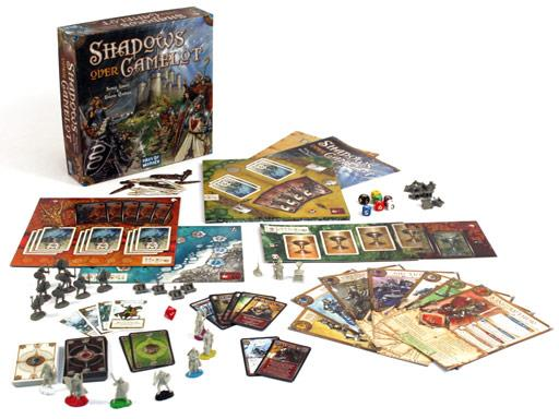 Board Game : Shadows over Camelot