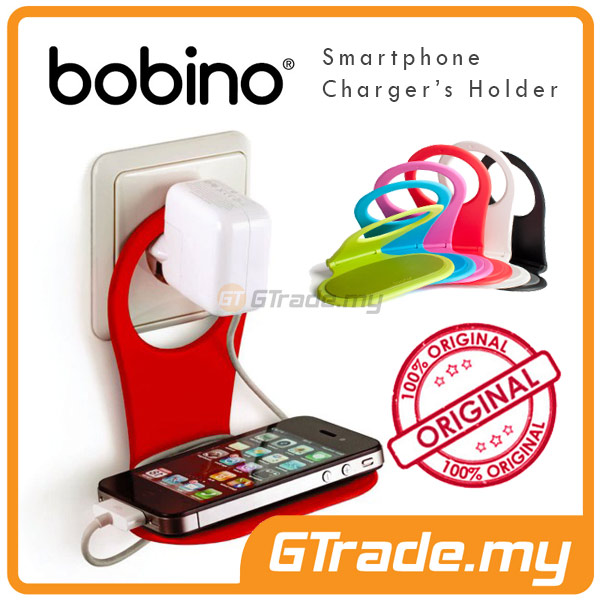 BOBINO SmartPhone Charger's Holder-Apple iPhone 6 6S Plus 5S 5C 5 4S 4
