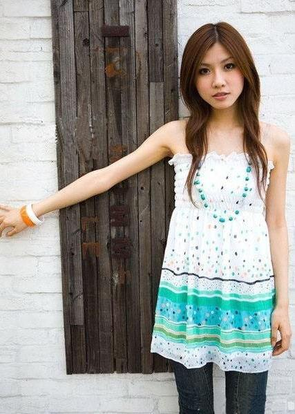 Bohemian Chiffon Dress 12923-5