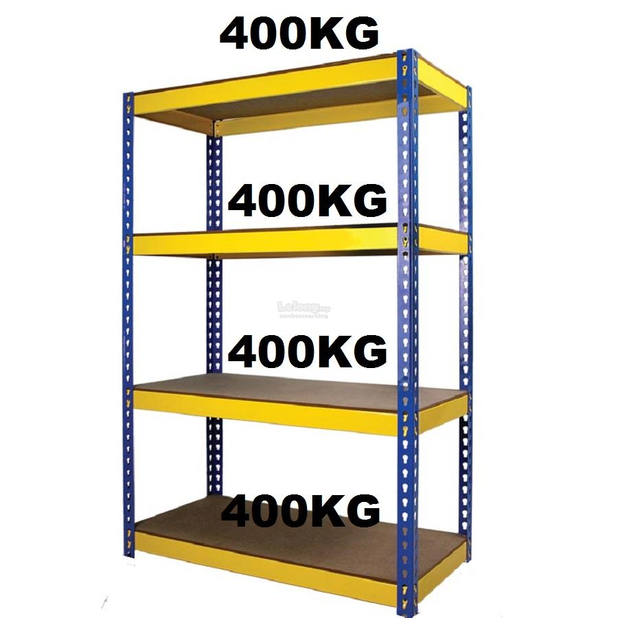 BOLTLESS RACK 1800mm(H)x1500mm(L)x450mm(D)