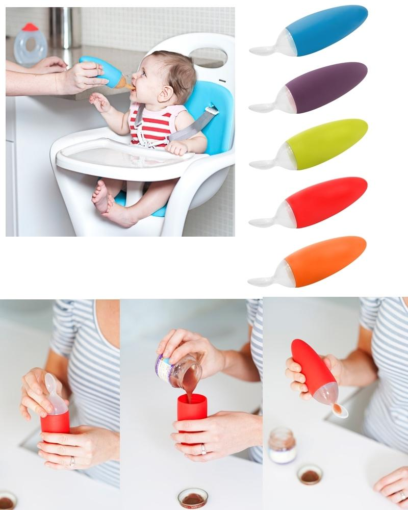 squirt baby food dispensing spoon Boon Squirt Baby Food Dispensing Spoon - Eat Teeth Sleep.