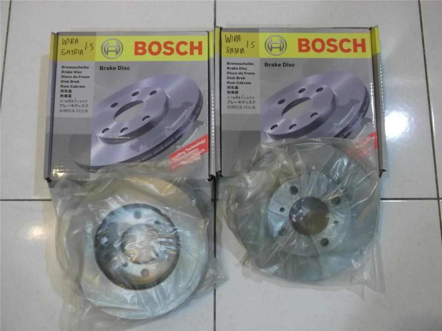 BOSCH FRONT Disc Rotor for WIRA/SATRIA 1.5 1 pair