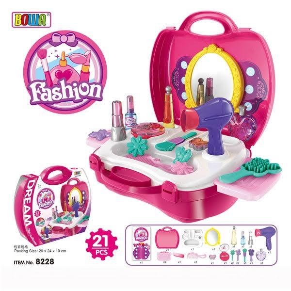 BOWA DREAM FROZEN THE SUITCASE FASHION PLAYSET