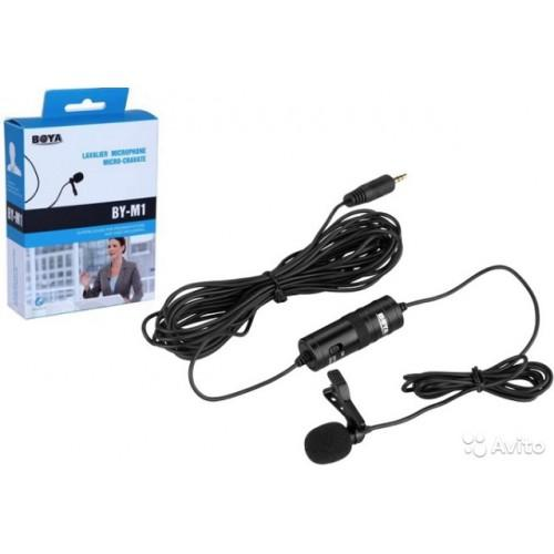 BOYA BY M1 Lavalier Microphone for Canon Nikon DSLR Cameras Camcorders