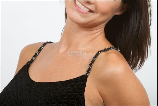 Bra Strap,Rhinestone,Leather,Halter Neck皮绳肩४..