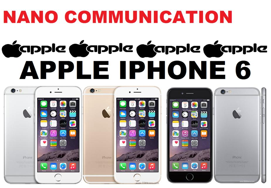 BRAND APPLE.Apple iPhone 6 16GB/64GB/128GB Nano Communication Warranty