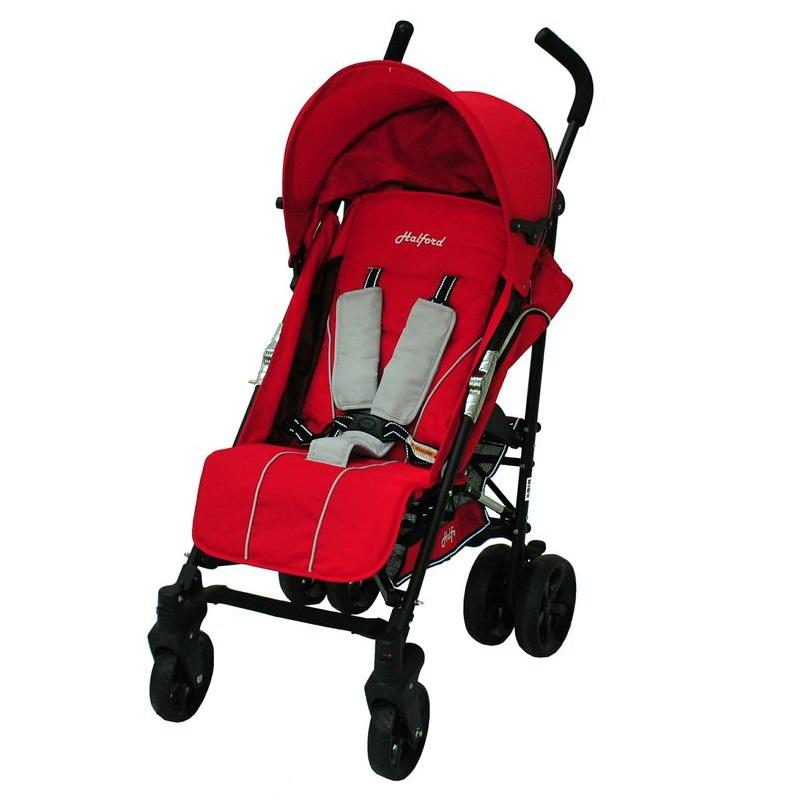Brand New Halford TITANIA Stroller color Tulip (Red)