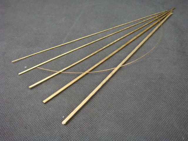 Brass Line Wire/Copper Rod (1mm/1.5mm)
