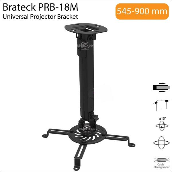 Brateck PRB-18M Universal Ceiling Projector Bracket Mount