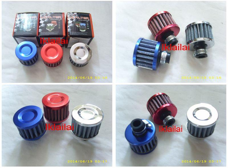 Breather Mini Air Filter 12mm Outlet Valve Cover Air Intake Vent