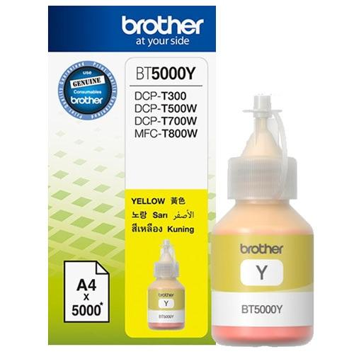 BROTHER BT5000 YELLOW INK CARTRIDGE