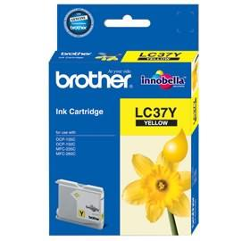 BROTHER LC-37 YELLOW INK CARTRIDGE