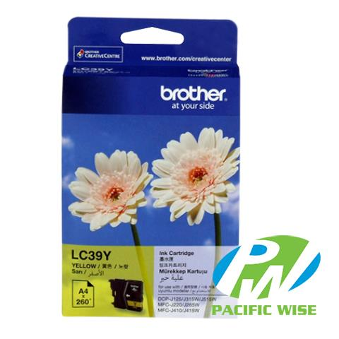 Brother LC-39 CMY Ink Cartridge (Original)