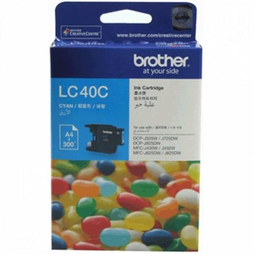 Brother LC-40 C Cyan Ink Cartridge