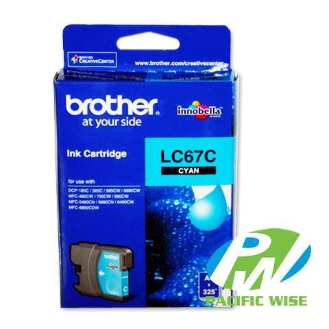 Brother LC-67 CMY  Ink Cartridge (Original)