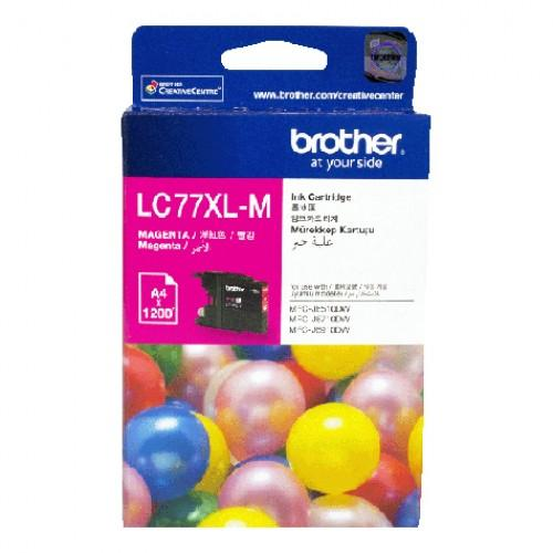BROTHER LC-77XL MAGENTA INK CARTRIDGE
