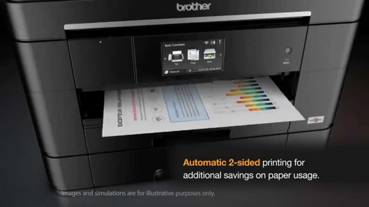 Brother MFC-J2720 Colour Wifi Multifunction Ink Benefit Printer