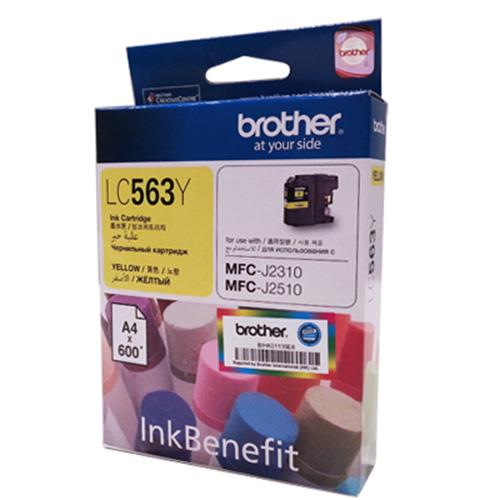 Brother Yellow Ink Cartridge, LC-563