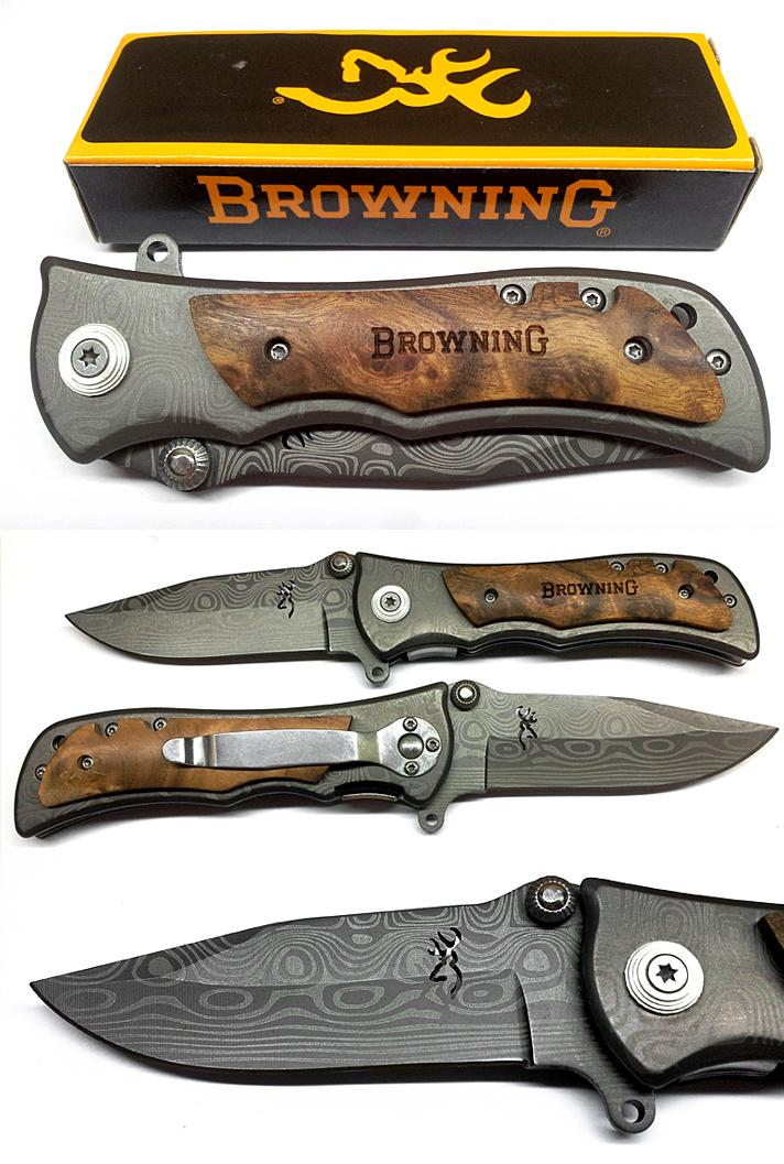 Browning 339 Tiger Pocket Folding Knife