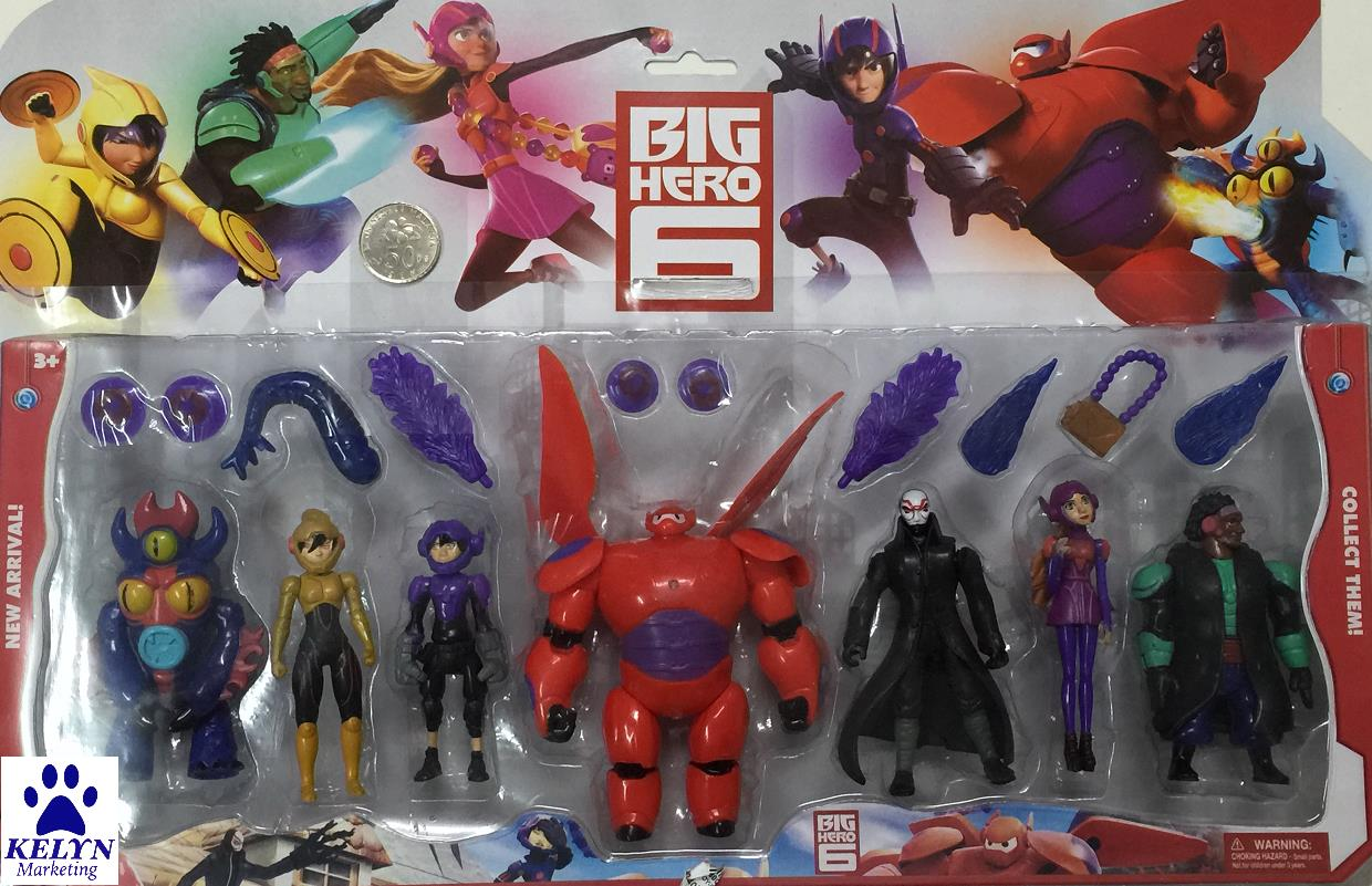 BTS Sale - Hard Toys - Big Hero 6 Figurines Gift Set (XL)