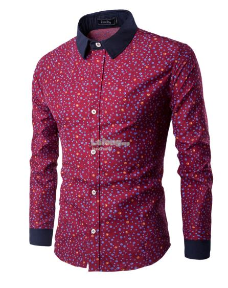 Bubble Pattern Shirt