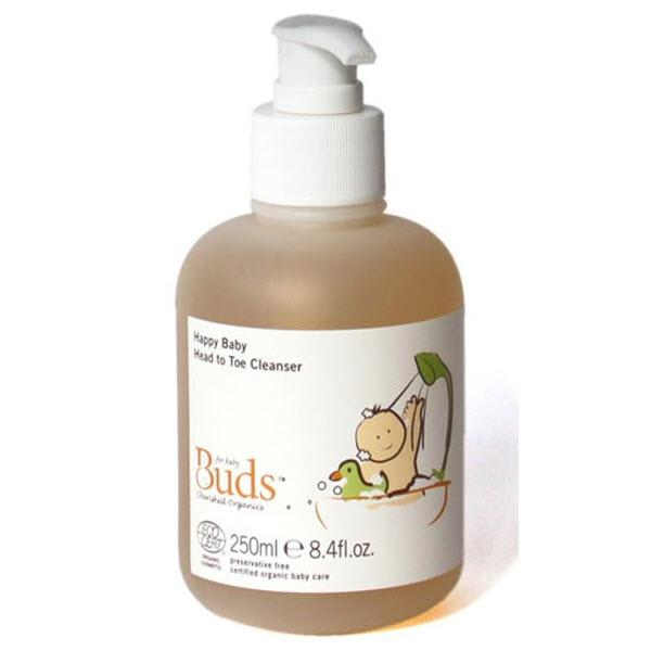 BUDS CHERISHED ORGANICS Happy Baby Head to Toe Cleanser 250g