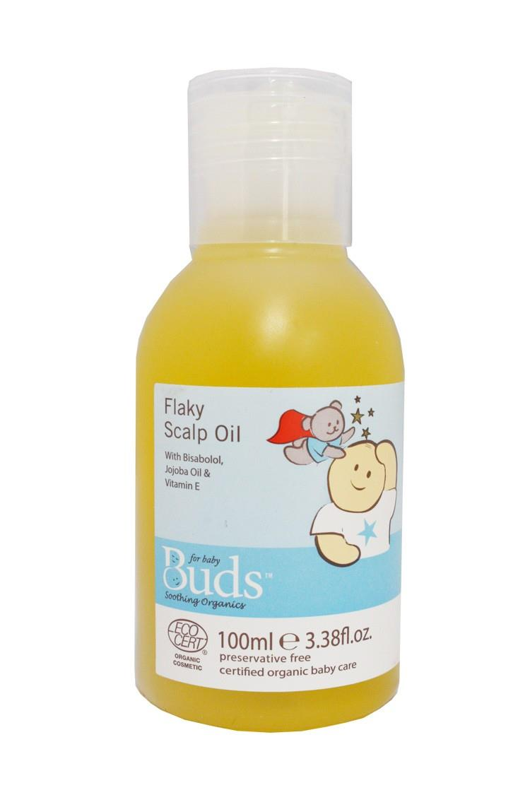 Buds: Soothing Organics Flaky Scalp Oil 100ml