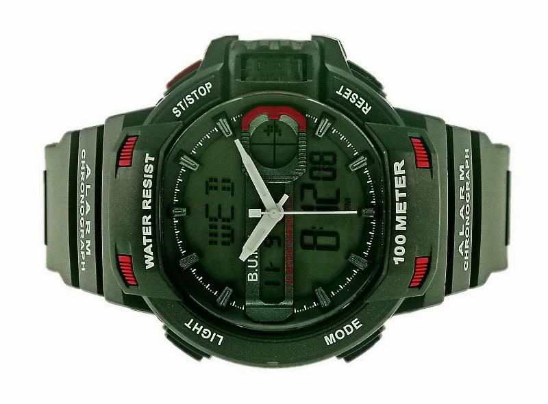 Bum Men Ana-Digi Watch 100 Meters BUB92608