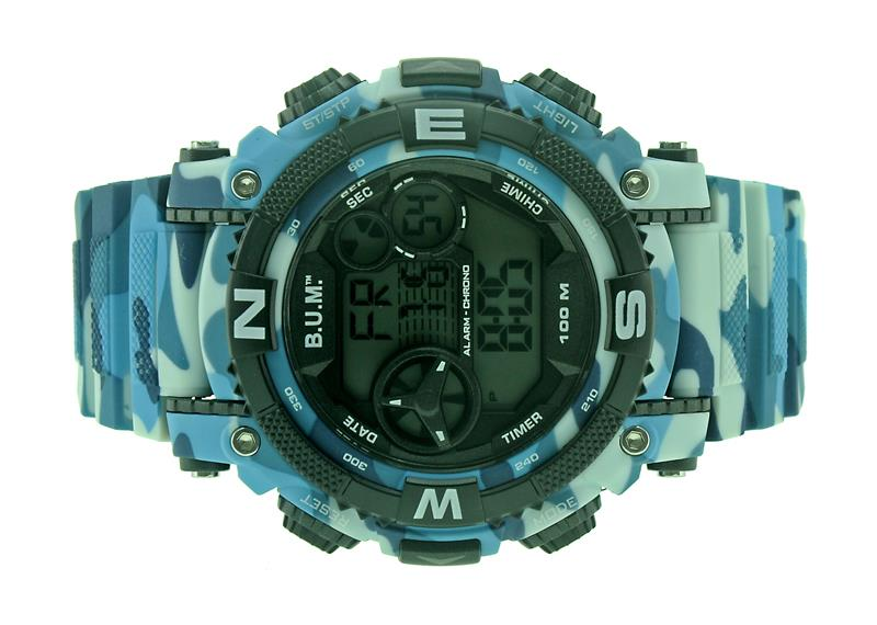 Bum Men Digital Chrono Watch BF16605CM